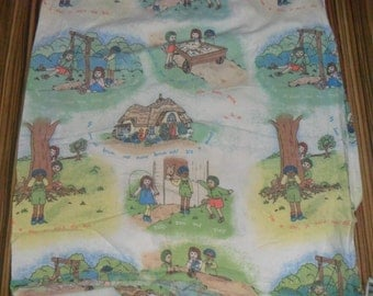 Rare Children's Programme TOTS TV  Fabric
