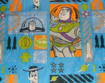Vintage Toy Story Polycotton Fabric