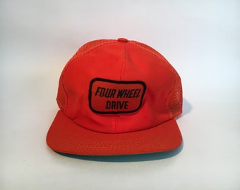 Vintage Four Wheel Drive Trucker Hat