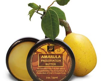 Amarula Preservation Butter for Styling Hair and Preventing Breakage
