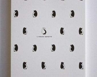 Heedless Penguin - ilPinguinoDistratto, block-notes