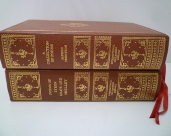 VINTAGE BOOKS POETRY. Byron, Keats, Shelley And Tennyson. Collectible  1971 Vintage Books.