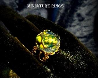 Miniature Turtle Ring