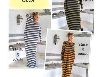 Striped Wool  Color Chart