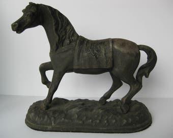 Horse Clock Etsy