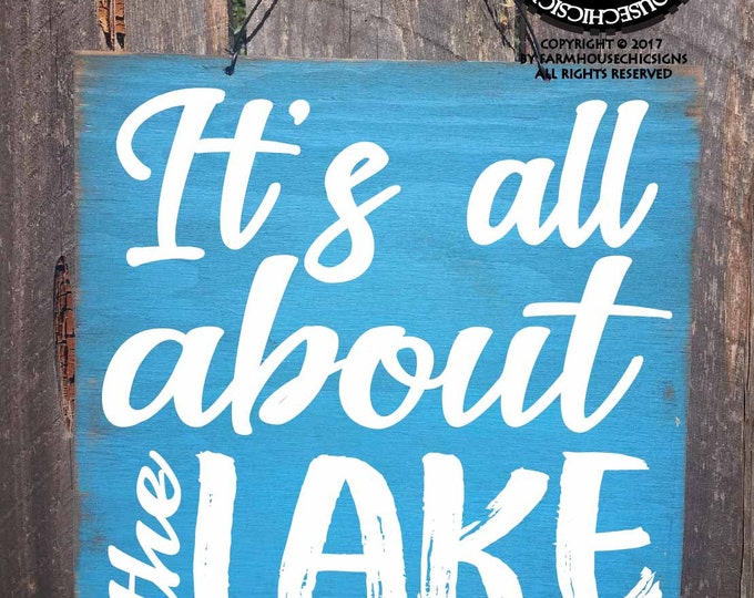 lake, lake sign, lake house signs, lake decor, lake decoration, lake house decor, lake wall art, lake signage, lake quote, lake decoration