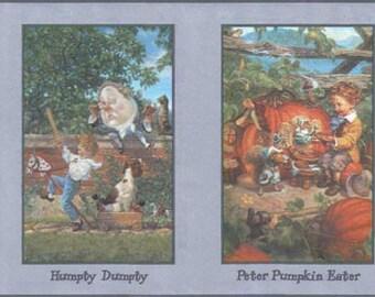 King Cole Peter Pumpkin B103342 Wallpaper Border
