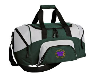 Basketball Gym Bag - Personalized - Monogrammed - Embroidered - Sports Bag - Sports Gift - Basketball Duffle Bag - BG990s