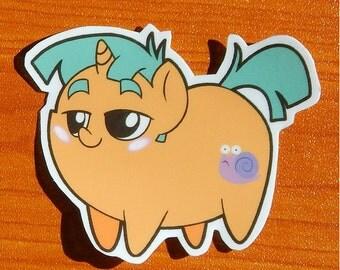 Pony Chubs! Snails Sticker