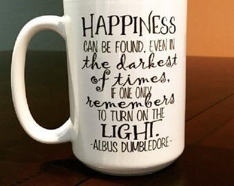 Happiness Can Be Found - Albus Dumbledore Coffee Mug
