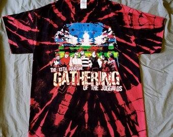 Reverse Tie Dye 13th Annual Gathering Of The Juggalos Tee