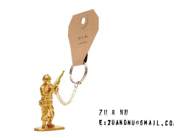 Toy Soldier Keyring