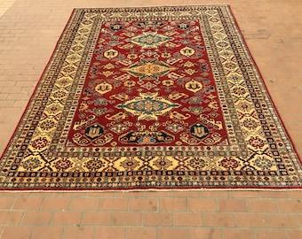 Stunning Super Kazak rug
