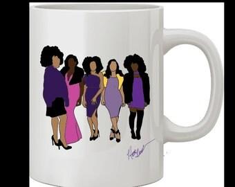 African American Sisterhood Mugs