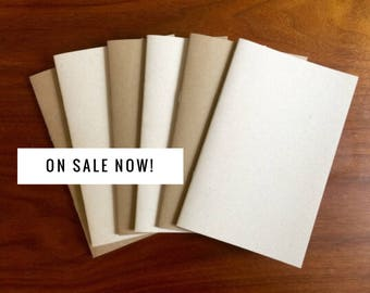 BULK Kraft Notebook 5.25 x 8.25 kraft brown notebook diary journal bulk notebooks party favors sketchbook party favor wedding blank