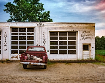 Roadside Service - Photo Art Print