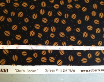 FABRIC -5 yards- Robert Kaufman -Chef's Choice- Coffee Beans