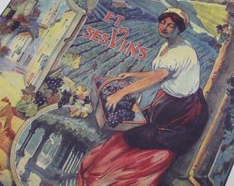 St Emilion Vintage French Poster