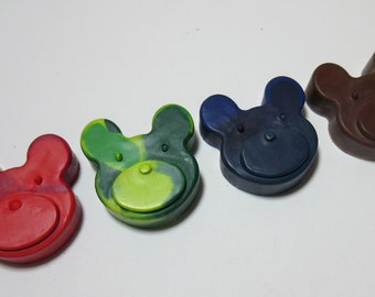 Set of 4 Adorable Bear Crayons