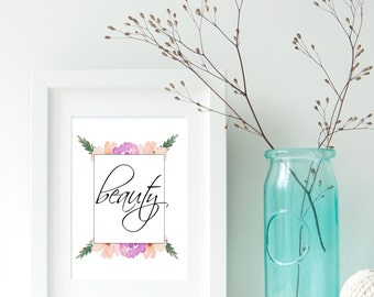 Beauty Flower Printable