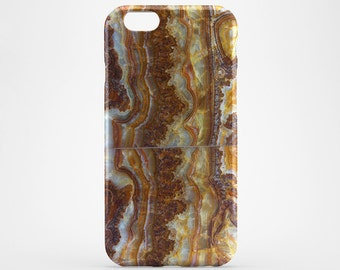 Brown Agate iPhone 8 Case iPhone X Case Style Phone Cover iPhone 7 Plus iPhone 6 Case iPhone 7 iPhone SE Case iPhone 5 Galaxy S6 S7 S8 Case