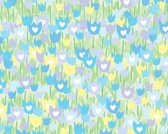 Tulip Garden Fabric by Benartex