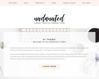 WordPress Theme / Feminine, Minamalist / Responsive / Portfolio, Ecommerce Shop, Blog, Website / Genesis Framework / Photographer, Blogger