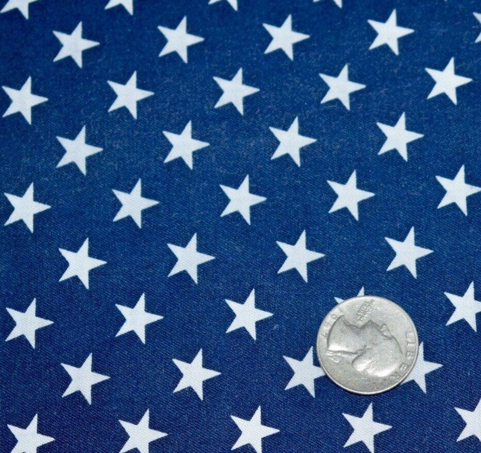 American flag fabric star fabric blue fabric quilting for Star fabric australia