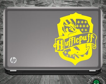 Hufflepuff House Crest Decal - Book Version