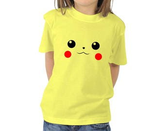 Pikachu, Cute Shirt, T-Shirts, Gift for Boy, Gift for Girl, Gift for Kids, Gift For Him, Gift For Her, Funny Shirts, Custom Shirt