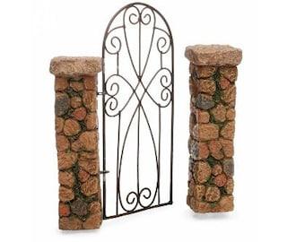 Fairy Garden  - Pillared Gateway - Miniature