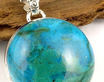 CHRYSOCOLLA from Peru, jewelry, chrysocolla, natural stone, self-confidence, stones, care minerals JA39.4 jewelry