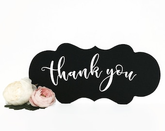 Thank you wedding chalkboard sign| Photo booth| wedding sign