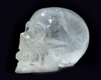 Crystal Skull rhinestone, skull 540 grams