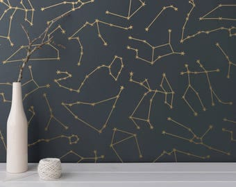 Zodiac Constellation Wall Decals - Star Decals, Unique Zodiac Gift, Vinyl Wall Decals, Star Wall Stickers, Zodiac Signs, Zodiac Wall Decals