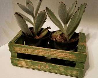 Small Rustic Wooden Crate made from Reclaimed wood.