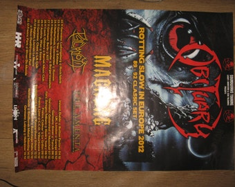 big obituary tour poster Cause of Death