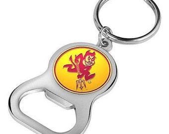 Arizona State Sun Devils Keychain Bottle Opener