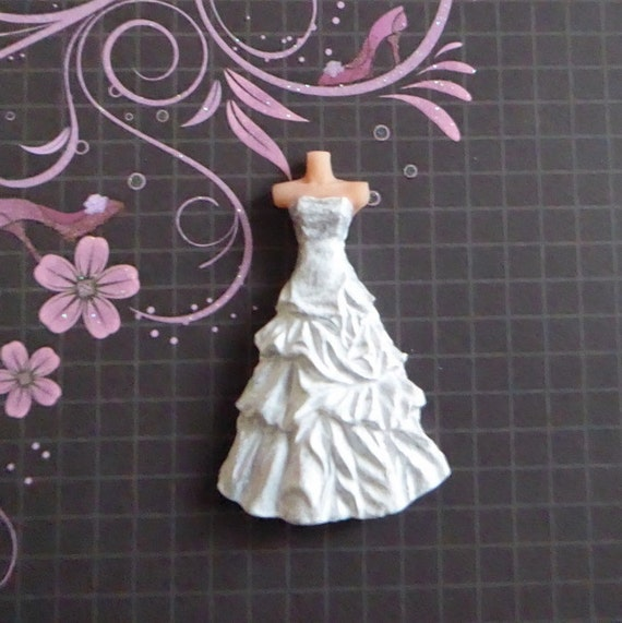 wedding cake topper moulds dress silicone mold fondant chocolate cake 26362