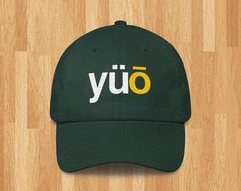 Phonetic Oregon  (UO) Embroidered Baseball Cap