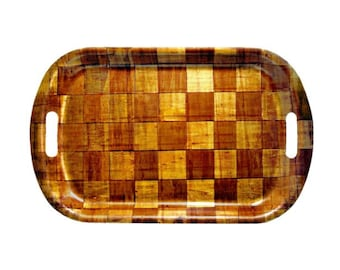 bamboo tray cm. 53x33 basket
