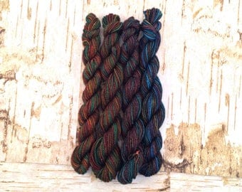 Green Color Theory  Mini Skein Set