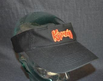 Vintage Kahlua Liquor Adjustable Baseball Cap Hat Visor (One Size Fits All)