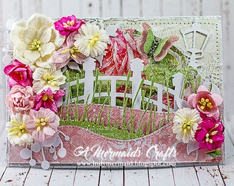 Shabby Chic Bridge Scene Card for Any Occasion