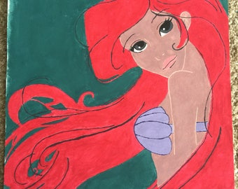 """11x14"""" Ariel"""