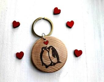You're My Penguin Keyring, Penguin Keyring, Penguin Keychain, Valentine Keyring, Penguin Gift, You're my Penguin, Personalised Keychain