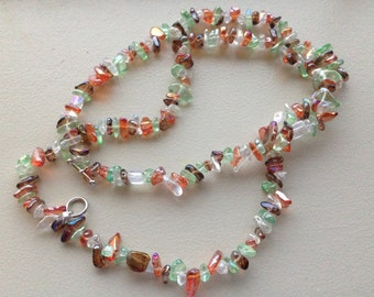 3 in 1 Fall Bead Necklace Bracelet Combo