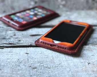 Wallet iPhone 7 / iPhone  7 Plus Leather Case,  iPhone 6s Plus Leather case  [Handmade]  iphone SE /5s case  iphone 7 / 7 plus leather case