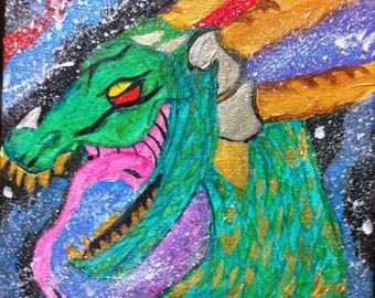 Space dragon - Print.