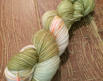Hand Dyed Superwash Merino DK/Light Worsted Yarn Wool, 100g/3.5oz, 'Amstel'